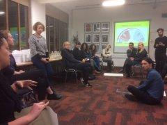 Refugee organisations training in London on 12 December 2017